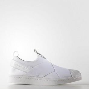 Zapatillas Adidas para mujer super star slip-on footwear blanco/core negro S81338-232