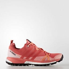 Zapatillas Adidas para mujer terrex agravic tactile rosa/easy naranja BB0973-240