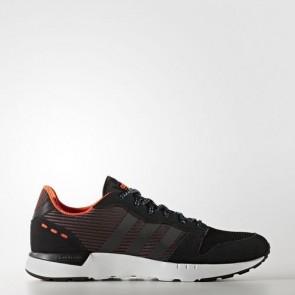 Zapatillas Adidas para hombre cloudfoam city racer core negro/solar rojo AW4066-111