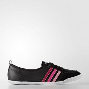Zapatillas Adidas para mujer cloudfoam piona core negro/bold rosa/footwear blanco B74705-242