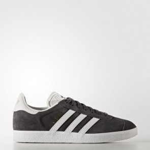 Zapatillas Adidas para mujer gazelle utility negro/footwear blanco/gold metallic BY2851-243