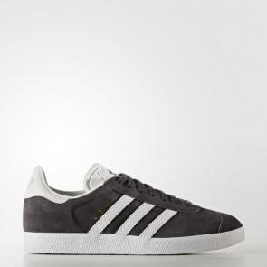 Zapatillas Adidas para mujer gazelle utility negro/footwear blanco/gold metallic BY2851-243