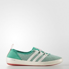 Zapatillas Adidas para mujer terrex climacool sleek core verde/chalk blanco/tactile rosa BB1921-246