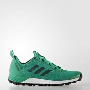 Zapatillas Adidas para mujer terrex agravic speed core verde/core negro BB3066-248