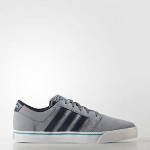 Zapatillas Adidas para hombre cloudfoam super skate gris/collegiate navy/energy azul AW3897-112