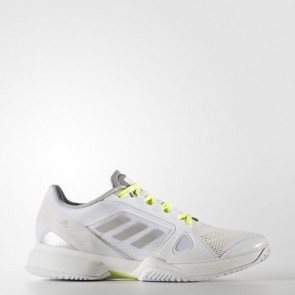 Zapatillas Adidas para mujer by stella mccartney barrica footwear blanco/universe/solar amarillo BB4819-252