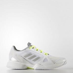 Zapatillas Adidas para mujer by stella mccartney barrica footwear blanco/universe/solar amarillo BB4819-252