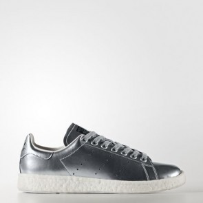 Zapatillas Adidas para mujer stan smith silver metallic/footwear blanco BB0108-257