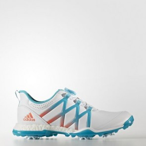 Zapatillas Adidas para mujer power boost footwear blanco/energy azul/easy coral Q44746-259