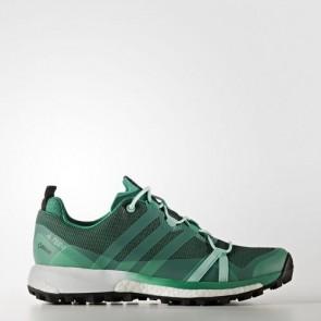 Zapatillas Adidas para mujer terrex agravic core verde/easy verde/footwear blanco BB0971-265