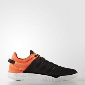 Zapatillas Adidas para hombre cloudfoam swish core negro/solar rojo AW4078-114