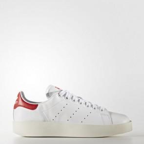 Zapatillas Adidas para mujer stan smith blanco/ blanco/collegiate rojo S32267-301