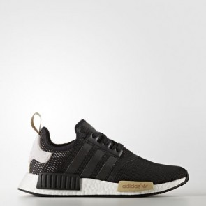 Zapatillas Adidas para mujer nmd_r1 core negro/ice violeta BA7751-305