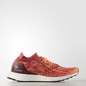 Zapatillas Adidas para mujer ultra boost uncaged collegiate burgundy/core rosa/glow naranja BA9797-306