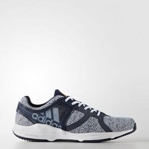 Zapatillas Adidas para mujer crazy cloudfoam collegiate navy/core azul/solar gold BA9958-309
