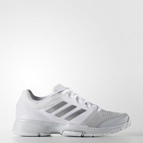 Zapatillas Adidas para mujer barrica club footwear blanco/silver metallic/core rosa BB3378-315