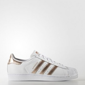 Zapatillas Adidas para mujer super star footwear blanco/supplier colour BA8169-319