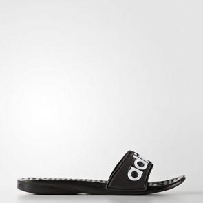 Zapatillas Adidas para mujer chancla carodas core negro/blanco AQ2149-326
