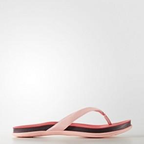 Zapatillas Adidas para mujer chancla super cloud easy coral/maroon/haze coral BA8827-328