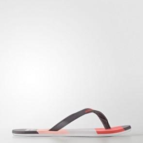 Zapatillas Adidas para mujer chancla hawaiana eezay trace gris/haze coral/easy coral S80425-332