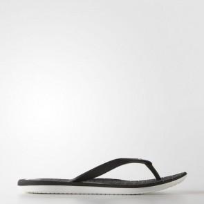 Zapatillas Adidas para mujer chancla hawaiana eezay core negro/blanco S78119-337