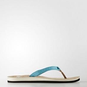 Zapatillas Adidas para mujer chancla hawaiana eezay non dyed/chalk blanco/lab verde BA8824-338