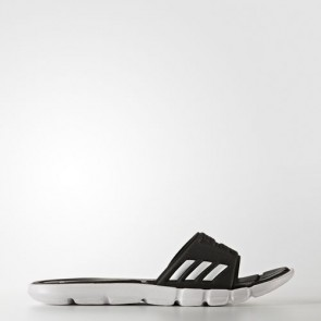 Zapatillas Adidas para mujer chancla pure cloudfoam core negro/footwear blanco BB4558-339