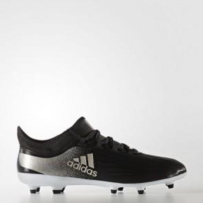 Zapatillas Adidas para mujer x 17.2 césped natural core negro/platin metallic/core rojo BA8563-341