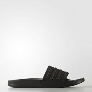 Zapatillas Adidas para mujer chancla lette cloudfoam plus core negro BB1095-342
