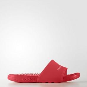 Zapatillas Adidas para mujer chancla ssage core rojo/footwear blanco BB0610-345