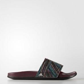 Zapatillas Adidas para mujer chancla cloudfoam plus maroon/footwear blanco BB3667-348