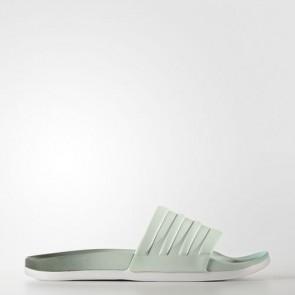 Zapatillas Adidas para mujer chancla cloudfoam plus utility ivy/linen verde/easy verde S82061-349