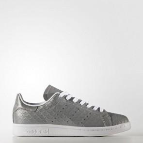 Zapatillas Adidas para mujer stan smith silver metallic/footwear blanco BB5159-352