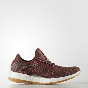 Zapatillas Adidas para mujer pure boost mystery rojo/night rojo/tech rust metallic BB1727-355