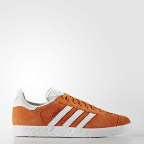 Zapatillas Adidas para mujer gazelle tactile naranja/footwear blanco/gold metallic BY2853-356