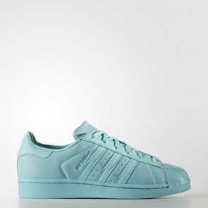 Zapatillas Adidas para mujer super star easy mint/core negro BB0529-360