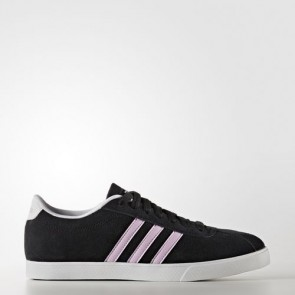 Zapatillas Adidas para mujer courtset core negro/light orchid/footwear blanco B74556-376