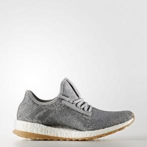 Zapatillas Adidas para mujer pure boost mid gris/vista gris/silver metallic BB1728-379