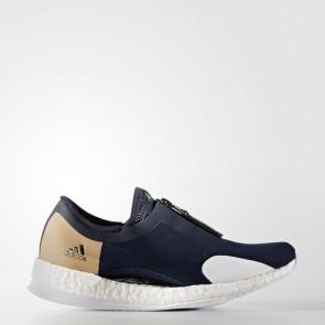 Zapatillas Adidas para mujer pure boost x zip collegiate navy/core negro/azul BA8038-393