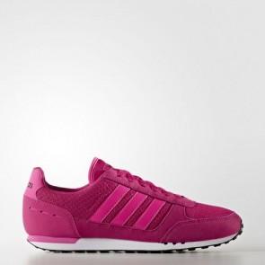 Zapatillas Adidas para mujer city racer bold rosa/shock rosa/core negro B74491-394