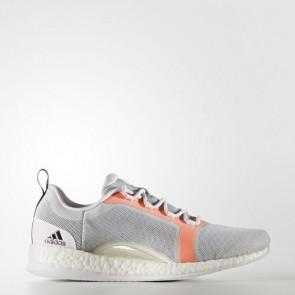 Zapatillas Adidas para mujer pure boost x 2.0 lgh solid gris/core negro/easy naranja BA7958-401