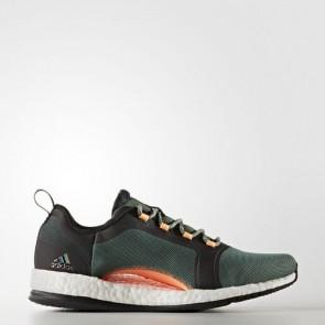 Zapatillas Adidas para mujer pure boost x 2.0 trace verde/core negro/footwear blanco BA7957-402