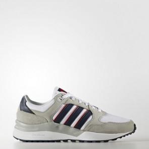 Zapatillas Adidas para hombre cloudfoam super footwear blanco/collegiate navy/scarlet AW4177-131