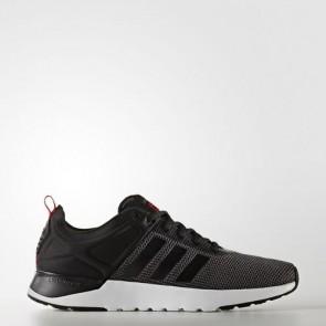 Zapatillas Adidas para hombre cloudfoam super racer gris oscuro/core negro/scarlet AW4163-135