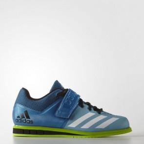 Zapatillas Adidas para hombre powerlift.3 unity azul/footwear blanco/semi solar verde AQ3331-140