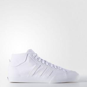 Zapatillas Adidas para hombre match court mid footwear blanco F37702-146