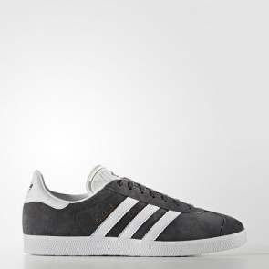 Zapatillas Adidas unisex gazelle gris oscuro/blanco/gold metallic BB5480-002