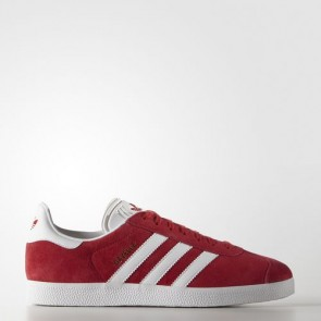 Zapatillas Adidas unisex gazelle scarlet/footwear blanco/gold metallic S76228-008
