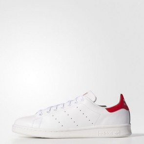 Zapatillas Adidas unisex stan smith footwear blanco/collegiate rojo M20326-017