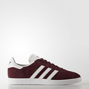 Zapatillas Adidas unisex gazelle maroon/footwear blanco/gold metallic BB5255-020